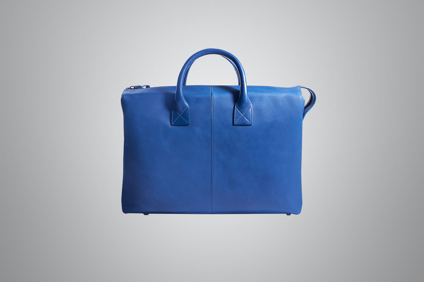 origin blue bag front